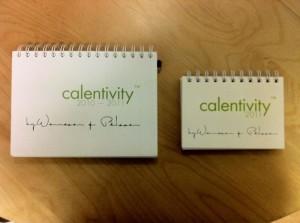 den kreativa kalender Calentivity® 2011 i A6